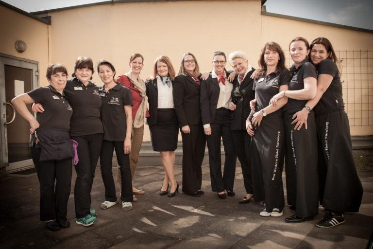 Das immer freundliche Service Team des Best Western Hotels in Nürnberg