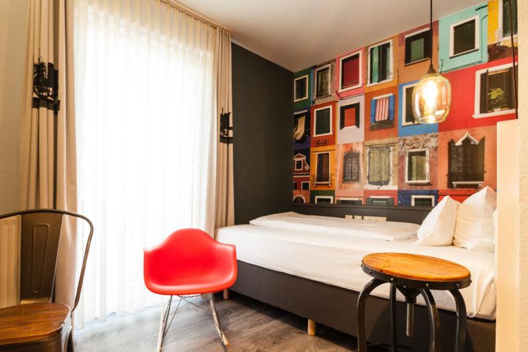 Modernes Zimmer im Best Western in Nähe des Hauptbahnhofs